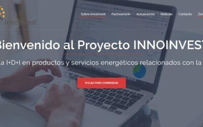 NUEVA PÁGINA WEB DEL PROYECTO INNOINVEST
